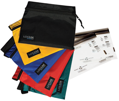 Splashsak comes in different sizes and with two aLoksak bags
